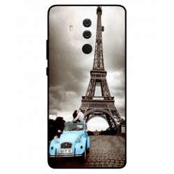 Durable Paris Eiffel Tower Cover For Huawei Mate 10 Porsche Design