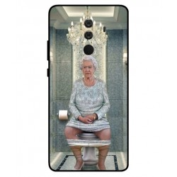 Durable Queen Elizabeth On The Toilet Cover For Huawei Mate 10 Porsche Design