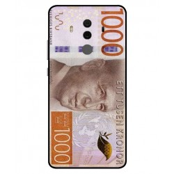 Durable 1000Kr Sweden Note Cover For Huawei Mate 10 Pro