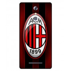 Durable AC Milan Cover For Leagoo T1 Plus