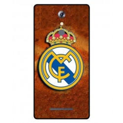 Durable Real Madrid Cover For Leagoo T1 Plus