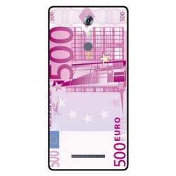 Durable 500 Euro Note Cover For Leagoo T1 Plus