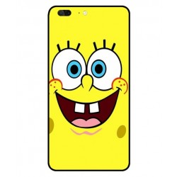 Durable SpongeBob Cover For Leagoo T5