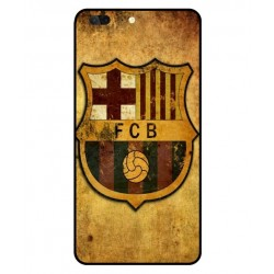 Durable FC Barcelona Cover For Leagoo T5