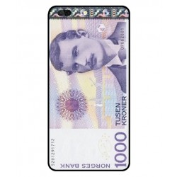 1000 Norwegian Kroner Note Cover For Leagoo T5