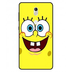Durable SpongeBob Cover For Nokia 7