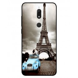 Durable Paris Eiffel Tower Cover For Wiko View Prime