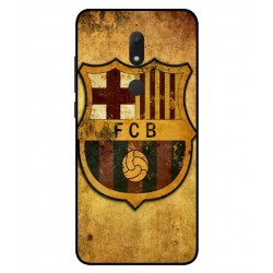 Durable FC Barcelona Cover For Wiko View Prime