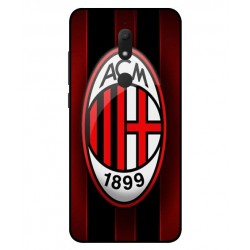 Durable AC Milan Cover For Wiko View Prime