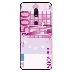 Durable 500 Euro Note Cover For Wiko View Prime