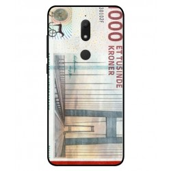 1000 Danish Kroner Note Cover For Wiko View Prime