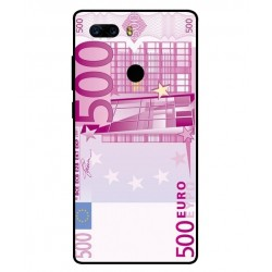 Durable 500 Euro Note Cover For ZTE Nubia Z17S
