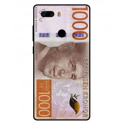 Durable 1000Kr Sweden Note Cover For ZTE Nubia Z17S