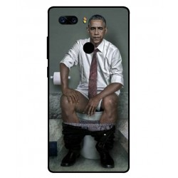 Durable Obama On The Toilet Cover For ZTE Nubia Z17S