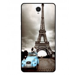 Durable Paris Eiffel Tower Cover For Archos 60 Platinum