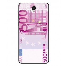 Durable 500 Euro Note Cover For Archos 60 Platinum