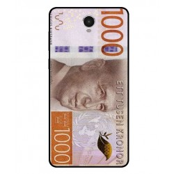 Durable 1000Kr Sweden Note Cover For Archos 60 Platinum