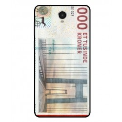 1000 Danish Kroner Note Cover For Archos 60 Platinum