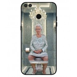 Durable Queen Elizabeth On The Toilet Cover For Archos Sense 55S