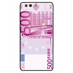 Durable 500 Euro Note Cover For ZTE Nubia Z17 Mini S