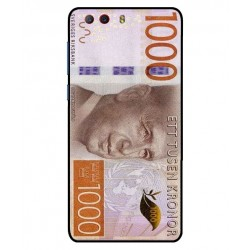 Durable 1000Kr Sweden Note Cover For ZTE Nubia Z17 Mini S