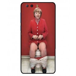 Durable Angela Merkel On The Toilet Cover For ZTE Nubia Z17 Mini S