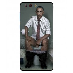 Durable Obama On The Toilet Cover For ZTE Nubia Z17 Mini S