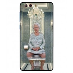 Durable Queen Elizabeth On The Toilet Cover For ZTE Nubia Z17 Mini S