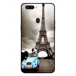 Durable Paris Eiffel Tower Cover For Oppo R11s