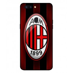 Durable AC Milan Cover For Oppo R11s