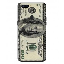 Durable 100 Dollar Note Cover For Oppo R11s