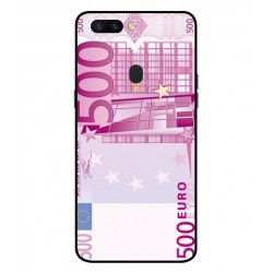 Durable 500 Euro Note Cover For Oppo R11s