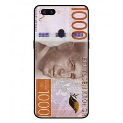 Durable 1000Kr Sweden Note Cover For Oppo R11s