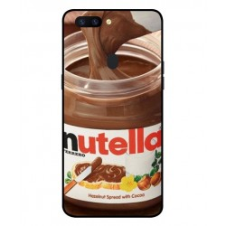 Durable Nutella Cover For Oppo R11s