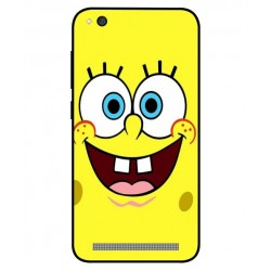 Durable SpongeBob Cover For Xiaomi Redmi 5a
