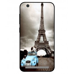Durable Paris Eiffel Tower Cover For Xiaomi Redmi 5a