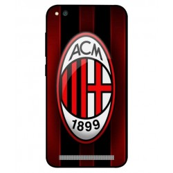 Durable AC Milan Cover For Xiaomi Redmi 5a