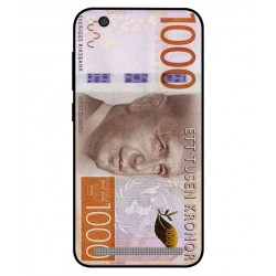 Durable 1000Kr Sweden Note Cover For Xiaomi Redmi 5a