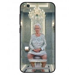 Durable Queen Elizabeth On The Toilet Cover For Xiaomi Redmi 5a