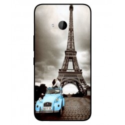 Durable Paris Eiffel Tower Cover For HTC U11 Life