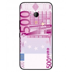 Durable 500 Euro Note Cover For HTC U11 Life