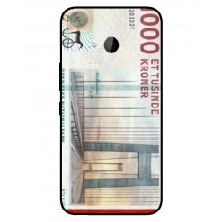 1000 Danish Kroner Note Cover For HTC U11 Life