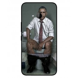Durable Obama On The Toilet Cover For HTC U11 Life