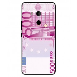 Banconota Da 500 Euro Cover Per HTC U11 Plus