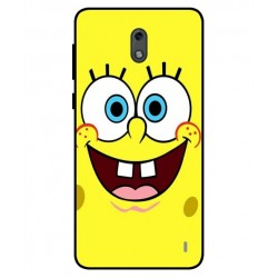 Durable SpongeBob Cover For Nokia 2