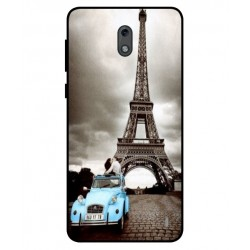 Durable Paris Eiffel Tower Cover For Nokia 2