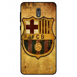 Durable FC Barcelona Cover For Nokia 2