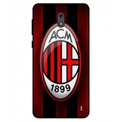 Durable AC Milan Cover For Nokia 2