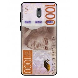 Durable 1000Kr Sweden Note Cover For Nokia 2