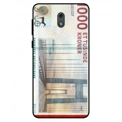1000 Danish Kroner Note Cover For Nokia 2